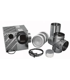 Kit distribution d'air chaud pour insert