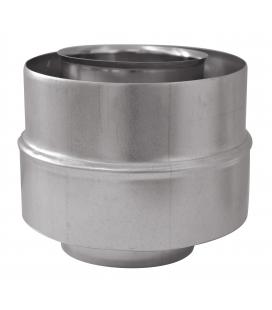 Adaptateur 80/130-80/125 concentrique