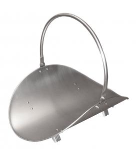 Porte bûche métal ou verre